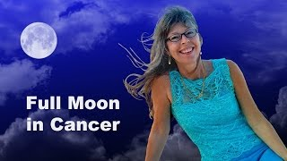 FULL MOON in Cancer Astrology: An Astrological Video Forecast for Jan 12