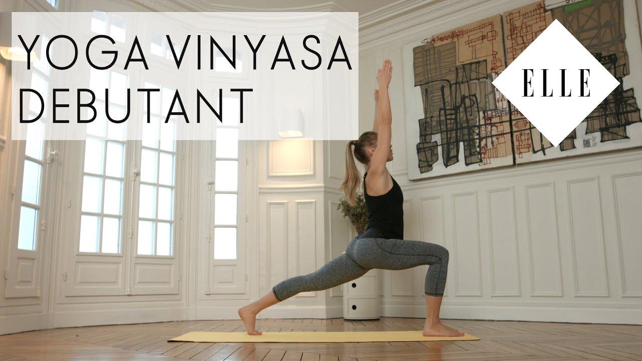 cours de yoga vinyasa pour d butants i elle yoga youtube. Black Bedroom Furniture Sets. Home Design Ideas