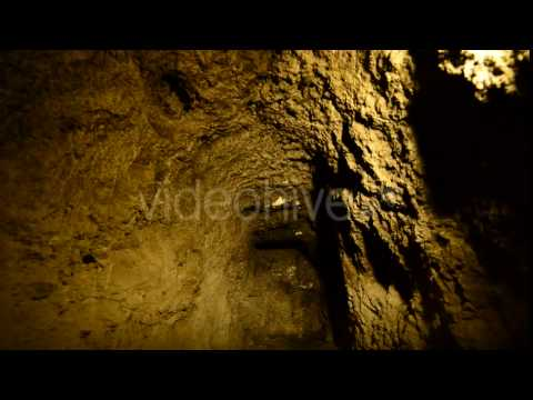 Abandon Gold Silver Mine At Night 2 - Stock Footage | VideoHive 10974429