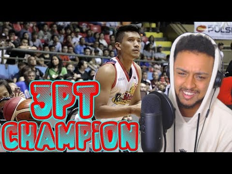 JAMES YAP WINS THE 2018 PBA 3 POINT CONTEST REACTION
