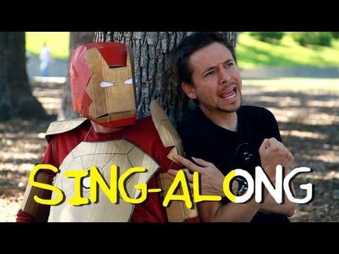 """""""I Love You Iron Man"""" - Performed by Tony Stark (Homemade Karaoke Sing-Along)"""