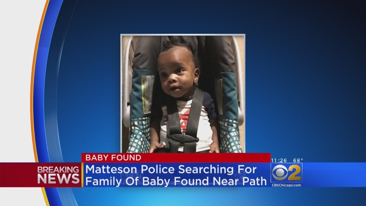 Abandoned Baby Found In Car Seat In Matteson - YouTube
