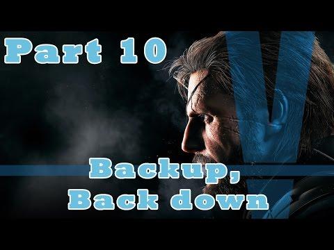 MGS V: The Phantom Pain | Backup, Backdown |
