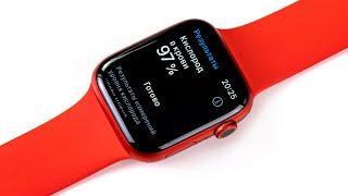 Измеряем кислород в крови с Apple Watch Series 6 + оцениваем новые ремешки без застежки...