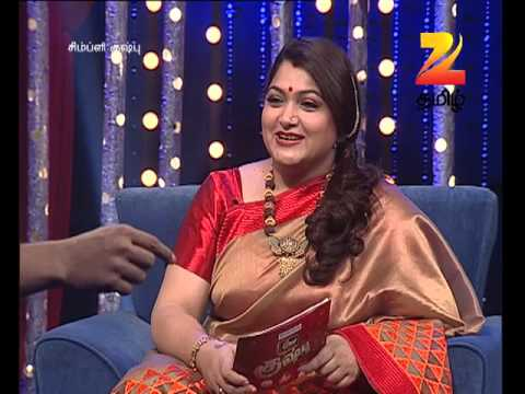 Simply Kushboo - Tamil Talk Show - Episode 26 - Zee Tamil TV Serial - Webisode