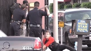Arrested With Steve-O!!