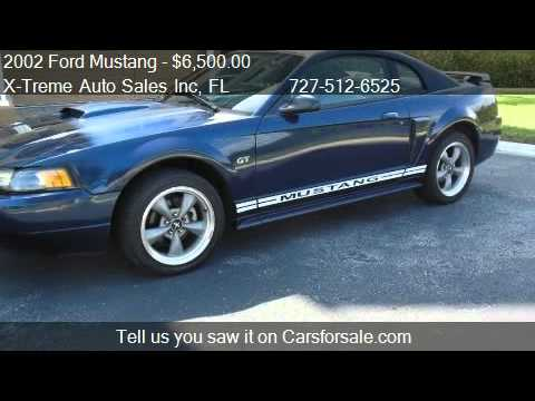 2002 Ford Mustang Gt Deluxe Coupe For Sale In Clearwater Youtube