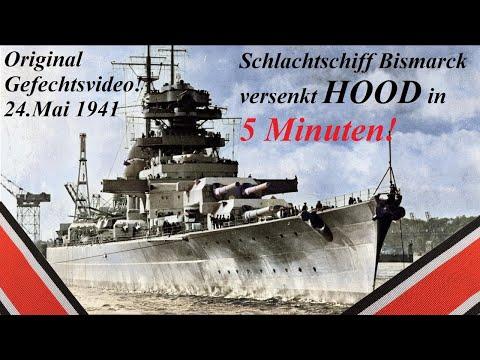 Schlachtschiff Bismarck Vs Hood Im Gefecht Dokumentation