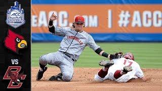 Louisville vs.Boston College ACC Baseball Championship Highlights (2019)