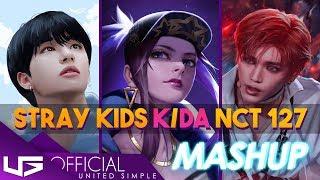 "K/DA MASHUP NCT STRAY KIDS ""POP/STARS CHERRY BOMB DISTRICT 9"" ft. Madison Beer, GI-DLE, Jaira Burns"