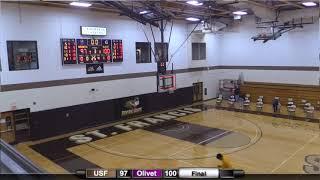 USF Men's Basketball: St. Francis (Ill.) vs. Olivet Nazarene (Feb. 6, 2021)