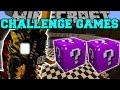 Minecraft: BATTRA LARVA CHALLENGE GAMES