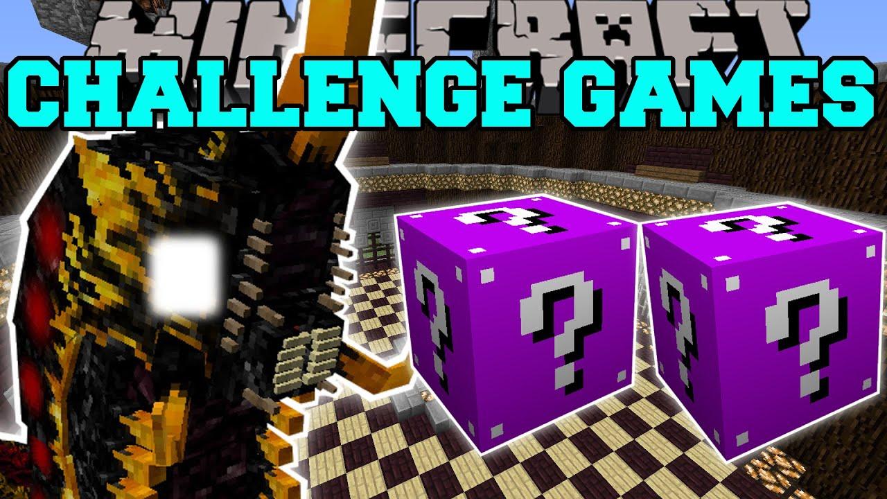 Download Minecraft: BATTRA LARVA CHALLENGE GAMES - Lucky Block Mod - Modded Mini-Game