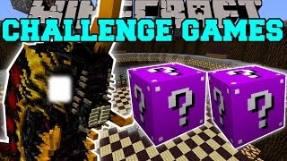 Minecraft: BATTRA LARVA CHALLENGE GAMES - Lucky Block Mod - Modded Mini-Game