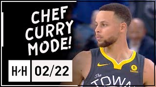 Stephen Curry UNREAL Full Highlights Warriors vs Clippers (2018.02.22) - 44 Points, 10 Ast, CLUTCH!