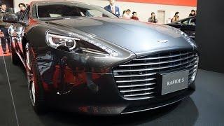 (4K)ASTON MARTIN RAPIDE S アストンマーティン・ラピードS - 大阪モーターショー2015