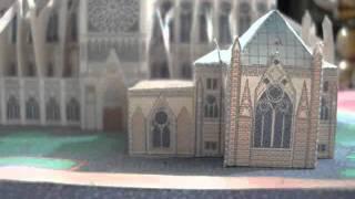 Cathédrale Notre-Dame de París papercraft