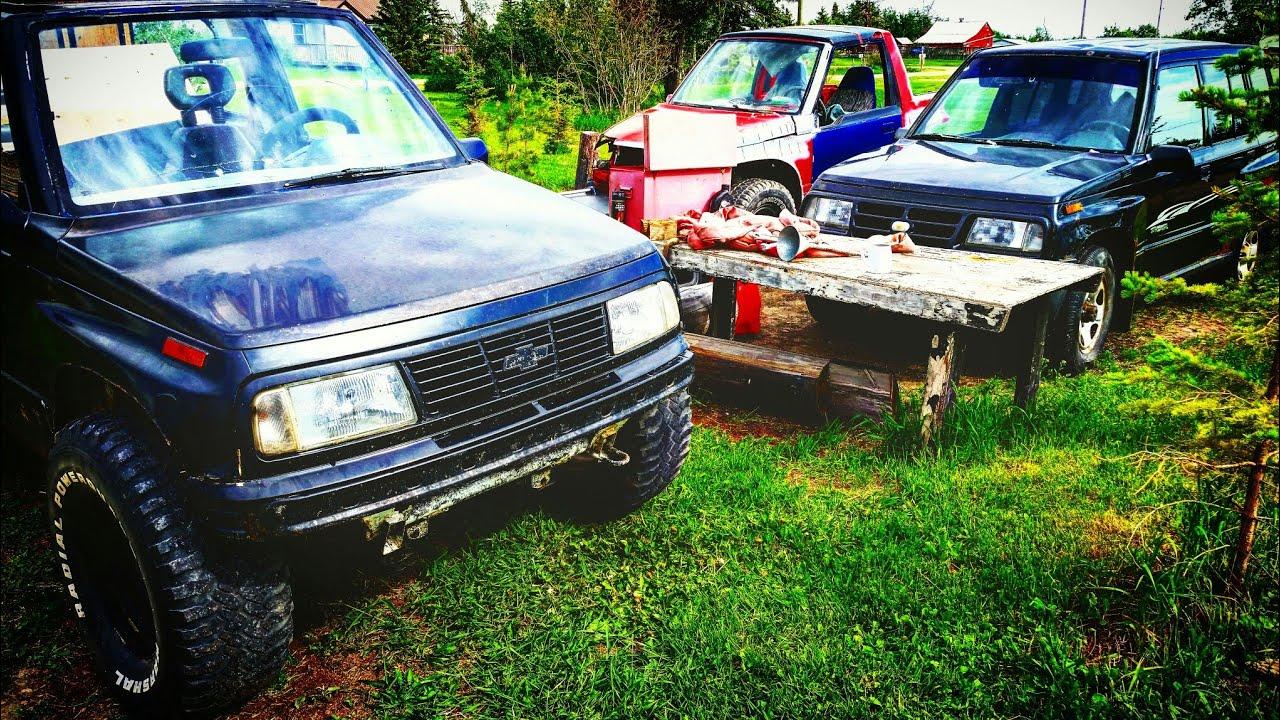 31s on a Geo / Chevy Tracker with no lift   6 month reveiw   (suzuki,  sidekick, sunrunner, vitara)