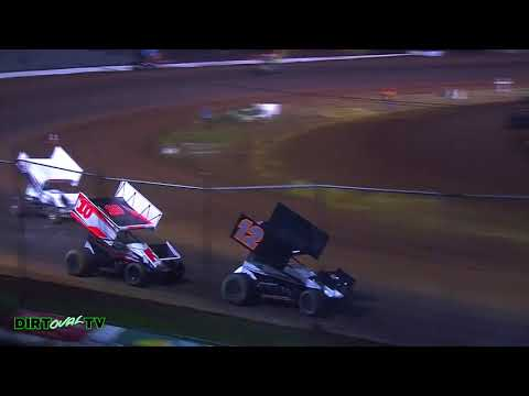 10 7 17 Cottage Grove Speedway   Limited Sprint Cars Highlights