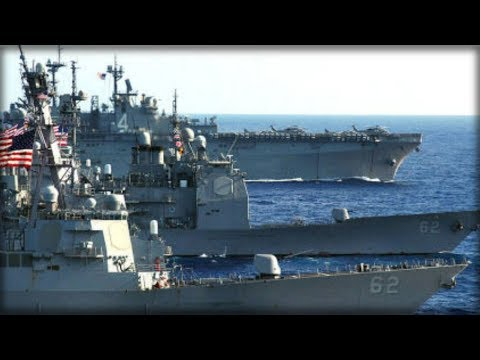 SWORD OF FREEDOM: US NAVY STEAMS INTO WATERS INVADED BY CHINA