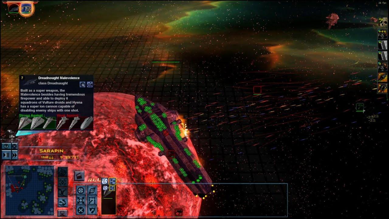 Star Wars Empire at War – FOC Alliance – Malevolence in battle