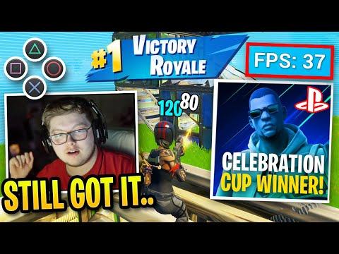 Ghost Aydan Switches To CONSOLE To DESTROY In Celebration Cup! (Fortnite)