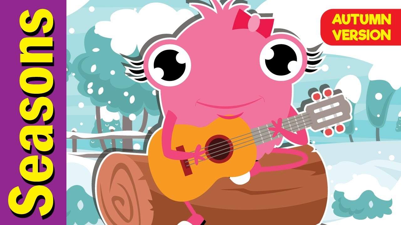 Download Seasons Song (Autumn Version)   Seasons Song for ESL   Fun Kids English