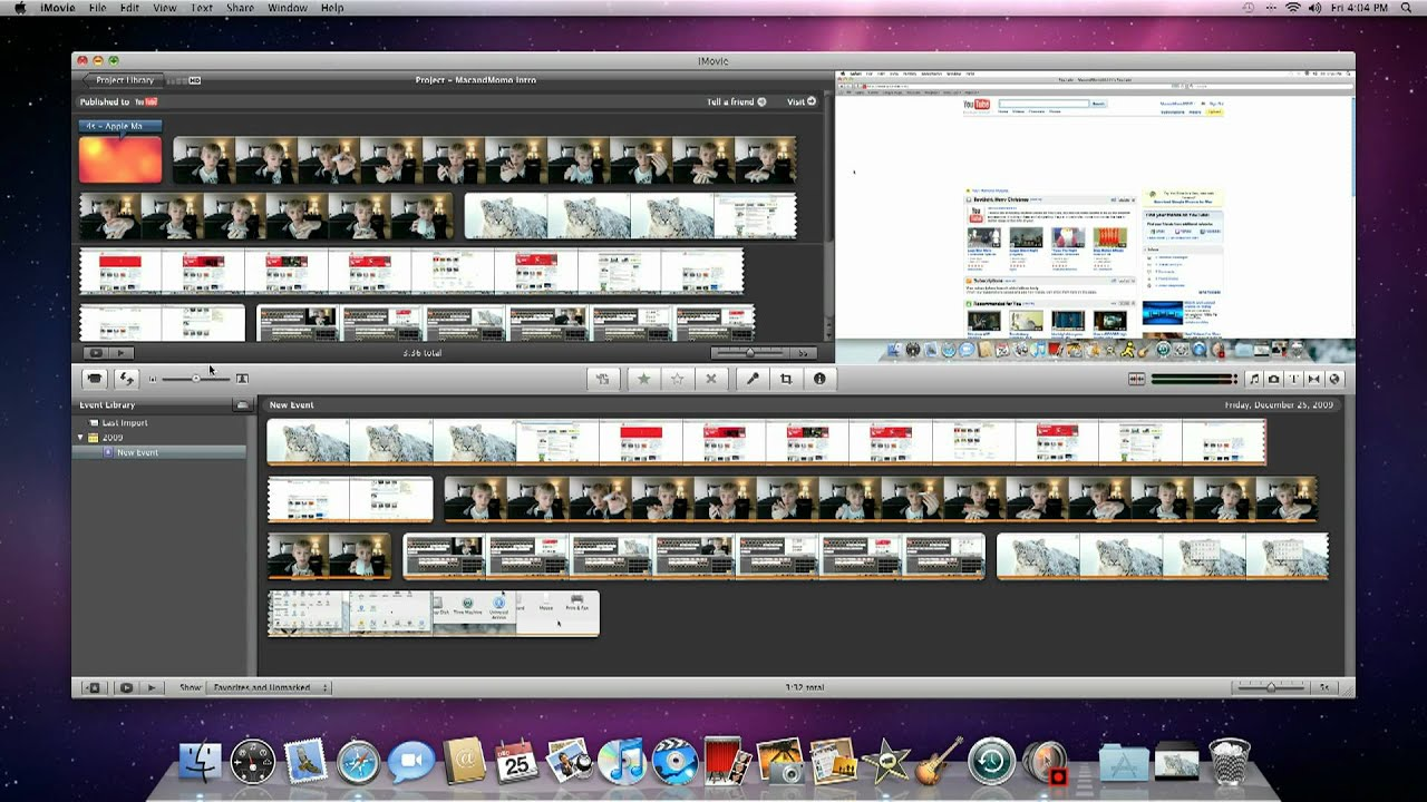 Hidden special effects in iMovie 09