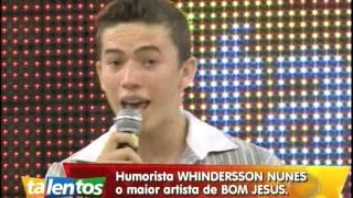 Conheça o talento de Whindersson Nunes no palco do Talentos do PI (Bom Jesus) 02