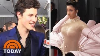 61st Grammy Awards Red Carpet With Cardi B, Shawn Mendes And More | TODAY