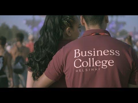 Business College Helsinki peruskoulupohjainen koulutus