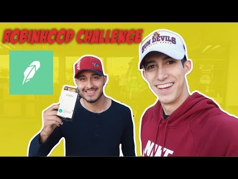 Robinhood Challenge | Teaching Strangers How To Trade Penny Stocks