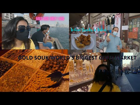 Gold Souk,Spice Souk,Abra Ride only 1 AED  IsologirltravellerI