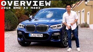 2018 BMW X3 M40i Overview, Exterior, Interior, & Test Drive