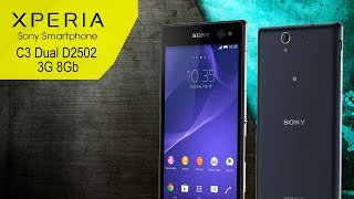 Мобильный телефон Sony Xperia C3 Dual D2502 - видео обзор