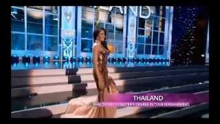 Miss Universe 2013 Preliminary Competition - Chalita Yaemwannang (Thailand)