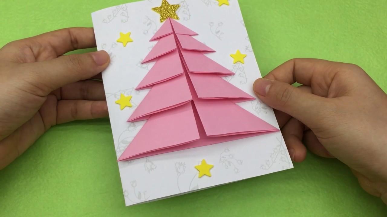 Cách Làm Thiệp Giáng Sinh Noel Đơn Giản Đẹp Và Ý Nghĩa | Khéo Tay
