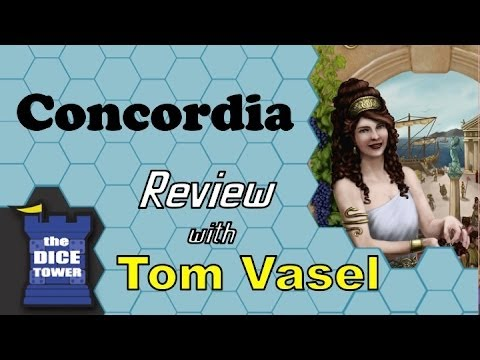 Concordia Review - with Tom Vasel