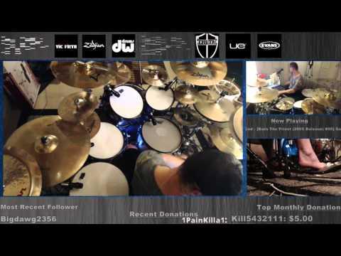 Lamb of God Sacrament - DRUMS full album live from twitch.tv/danwind86 10-8-2015