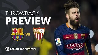 Throwback Preview: FC Barcelona vs Sevilla FC (2-1)