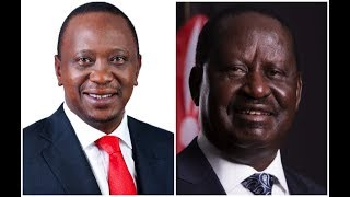 President Kenyatta praises Raila Odinga's statesmanship for embracing peace