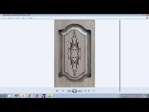 Создание 3D модели фасада в ArtCam по картинке за 10 минут + учебные файлы