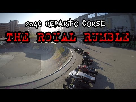 2040 RC - Royal Rumble: extreme Hardcore rc cars bashing