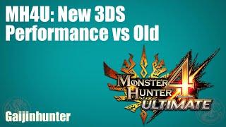 MH4U: 3DS vs Nęw 3DS