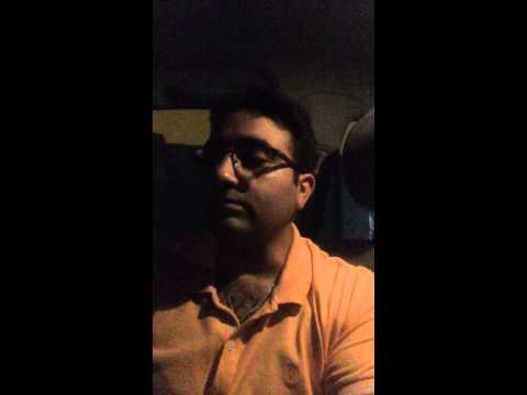 """Amit Dhawan singing """"jaane kya dhoondhti rehti hai"""" by Mohd Rafi"""