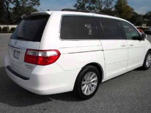 2005 Honda Odyssey Touring With Nav Leather Sunroof