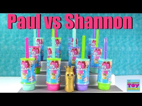 Paul vs Shannon Challenge Wonder Pops Surprize Animals Plush Edition | PSToyReviews