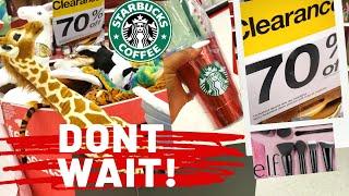 Huge Clearance At Target!dont Wait! 70% Off Gift Sets, Christmas,makeup, Starbucks!