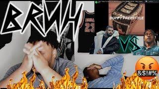 """Drake """"Duppy Freestyle"""" (Kanye West & Pusha T Diss) Reaction"""