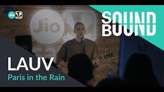 Cover images SoundBound | Lauv - Paris in the Rain